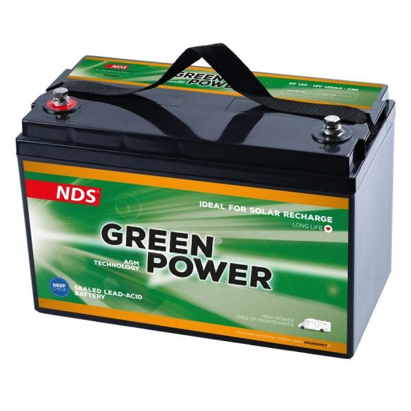 NDS GREENPOWER Service Accu AGM 12V 120Ah -